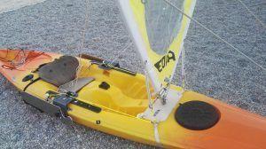 kit vela para kayak